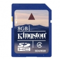 Карта памет (memory карта) 8GB SDHC KINGSTON CL4