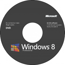 WINDOWS 8 x64 ENG DVD GET GENUINE KIT
